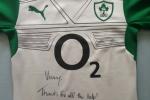Signed Brian O' Driscoll Jersey