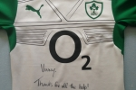 Signed Brian O' Driscoll Jersey